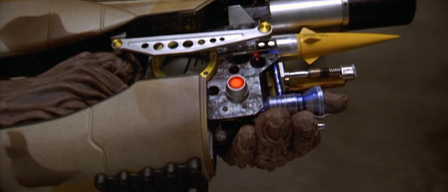 The ZF-1 pod weapon system from the Fifth Element